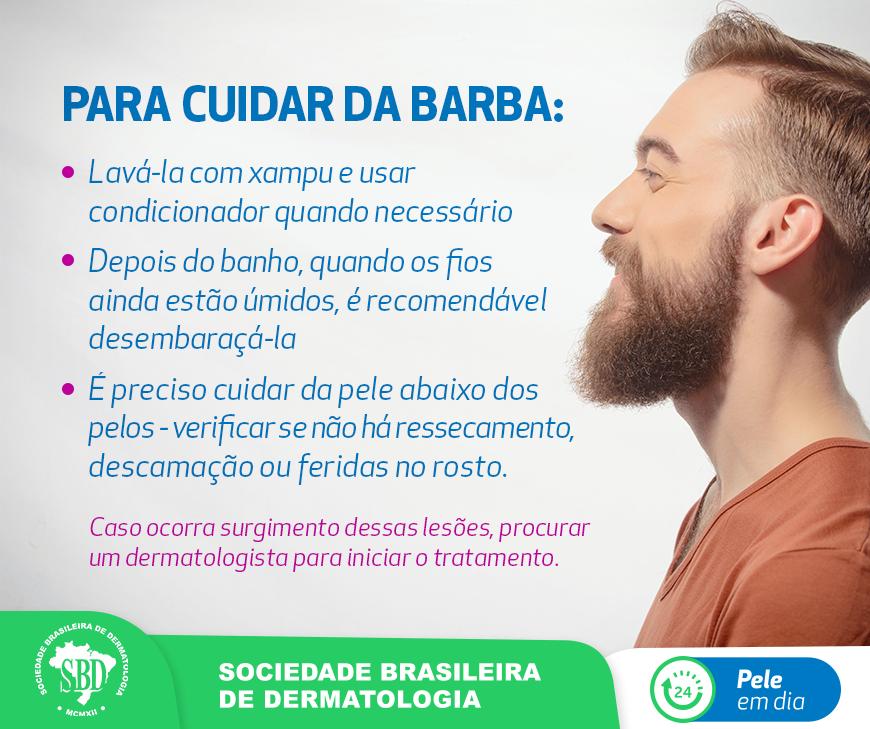 Como cuidar da barba?
